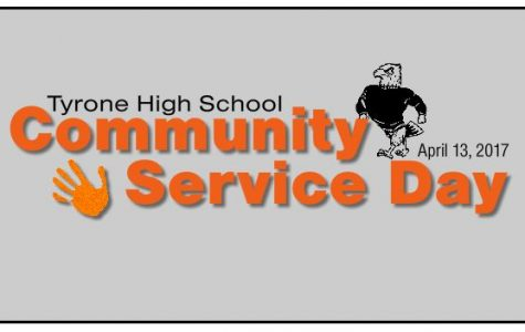Tyrone High School Community Service Day Planned for April 13