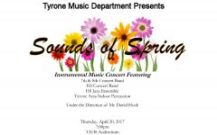 Tyrone Band Spring Concert Thursday at 7:00 pm