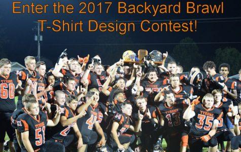 Enter the Backyard Brawl T-Shirt Contest