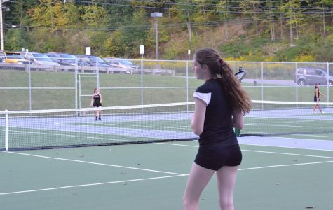 Ladies Tennis Sweeps Clearfield