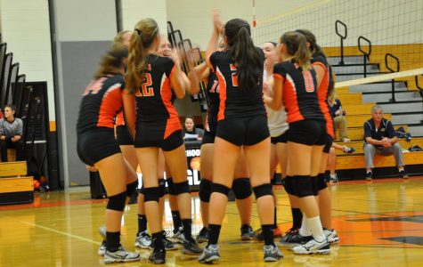 Tyrone Volleyball Drops Their First Game Against Bald Eagle