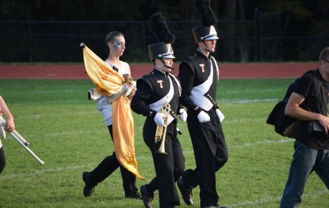 Tyrone Band Places First at St. Mary's Competition