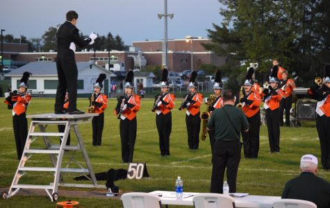 Tyrone Band Places First at Juniata Valley High School