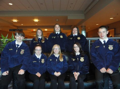 Keystone FFA Degree Highlighted Student: Zach Patterson