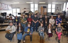 TAHS Band Students Prepare for 2017 County Band Festival