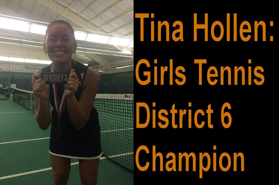 Hollen Wins 1st in District 6 Tennis; States Set for November 3rd