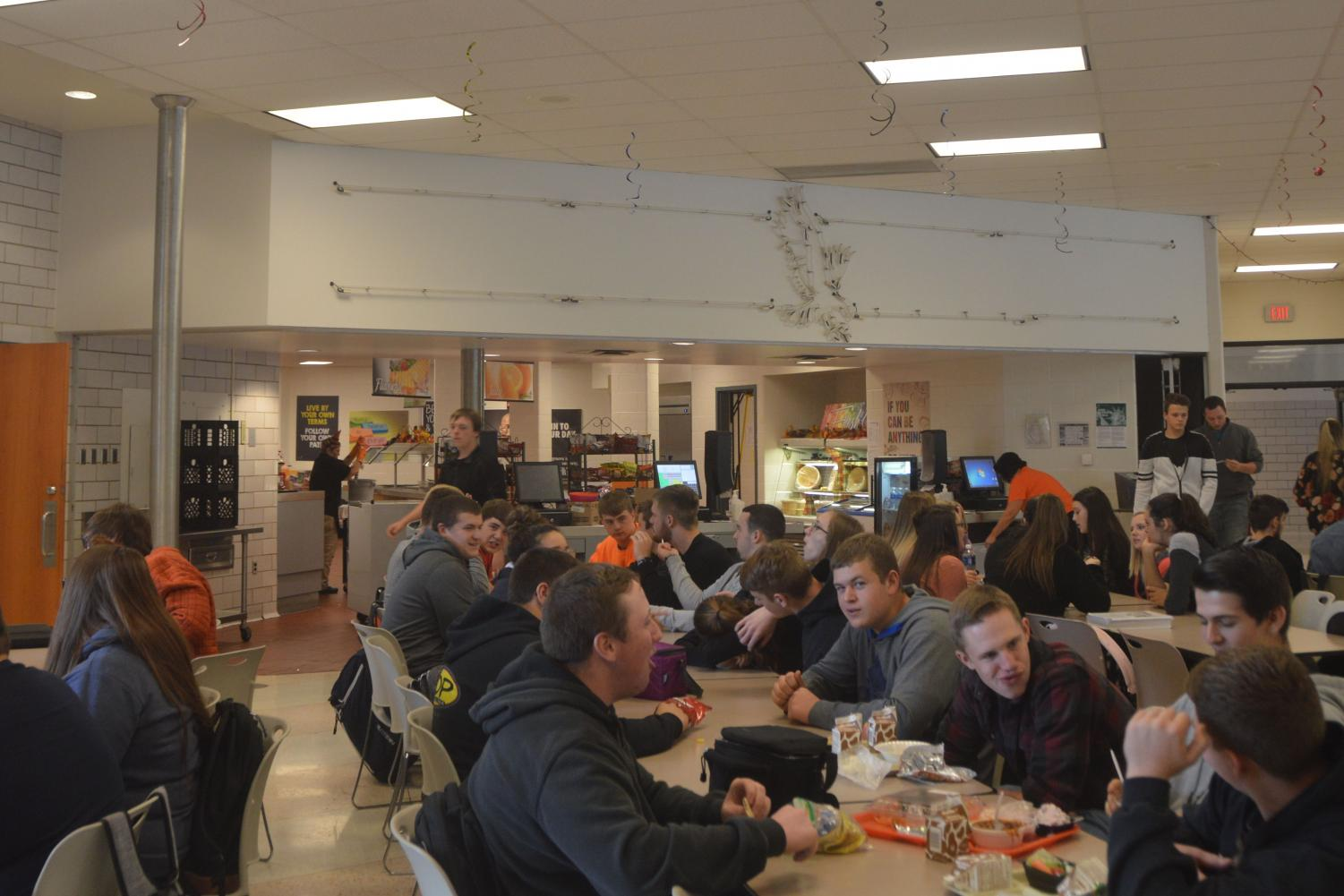 High school cafeteria Large Tahs Students Take Our High School Cafeteria Survey Tyrone Eagle Eye News Tahs Students Take Our High School Cafeteria Survey Tyrone Eagle