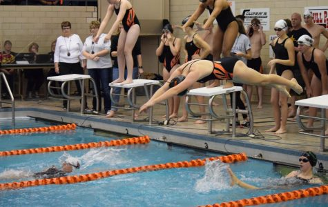 Swim Season Opens with Double Win Over Bellefonte