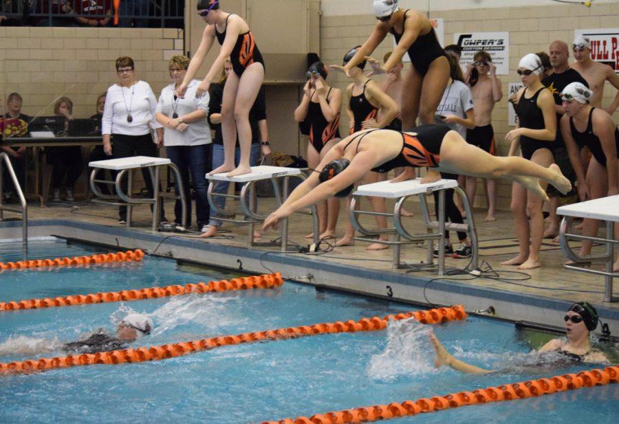 Swim Season Opens with Double Win Over Bellefonte