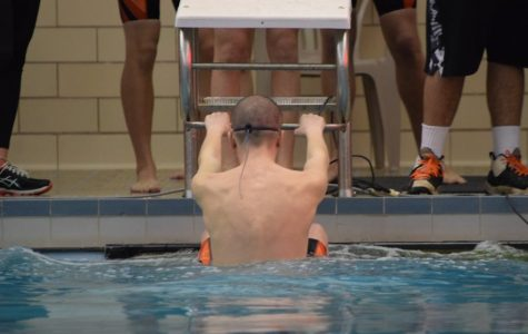 Eagle Swimmers Lose to Talented Clearfield Team