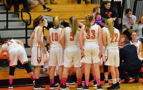 Lady Eagles Steamroll the Lady Mounties
