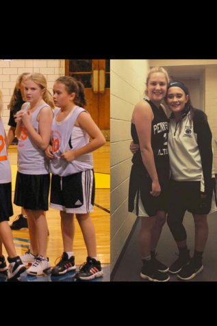 Finnley and Alexis, then and now