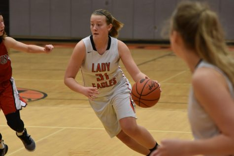 Penn Cambria Ices Lady Eagles