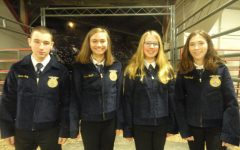 Five TAHS Students Receive FFA Jackets at the FFA Mid-Winter Convention