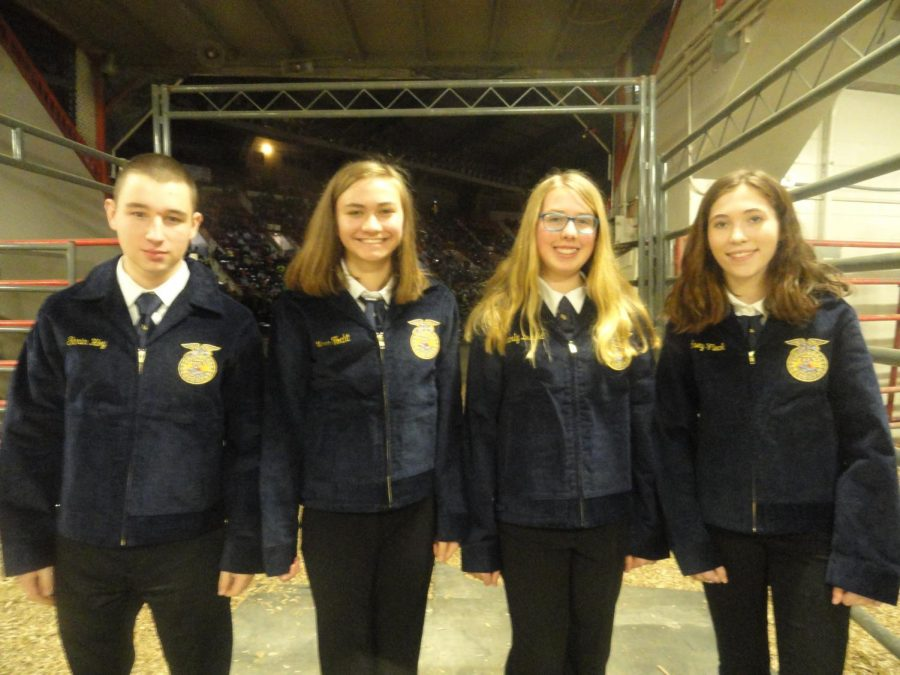FFA jacket recipients