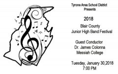 TAHS Hosts 2018 Junior High County Band Festival