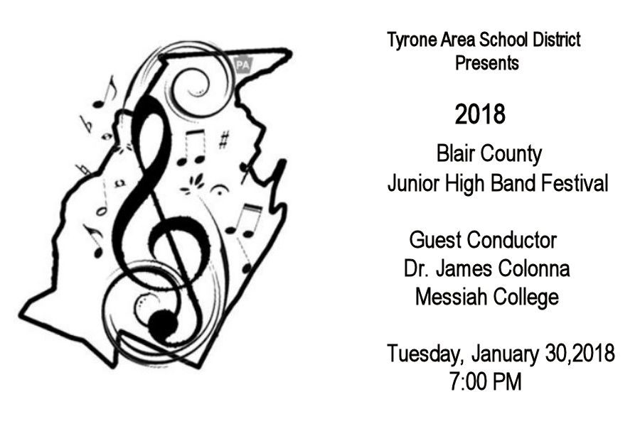 TAHS Hosts 2018 Junior High County Band Festival