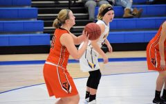 Lady Eagles Lose Hard Fought Game