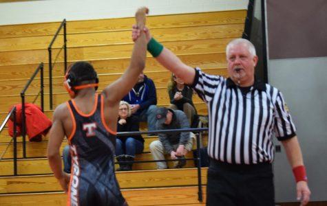 Golden Eagle Wrestling Picks up First Win