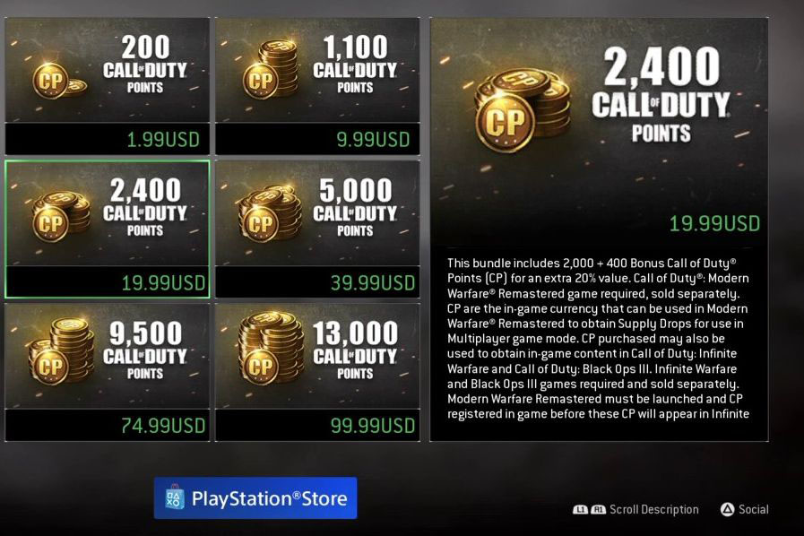 A+screen+shot+of+in+game+purchases+on+Call+of+Duty