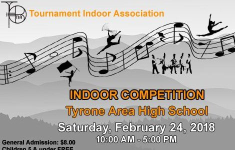 Tyrone Indoor Percussion Prepares for 2018 Home Show