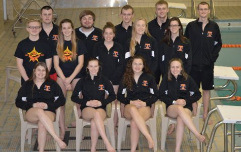 Swim Team Takes On Districts At PSU Natatorium March 2nd