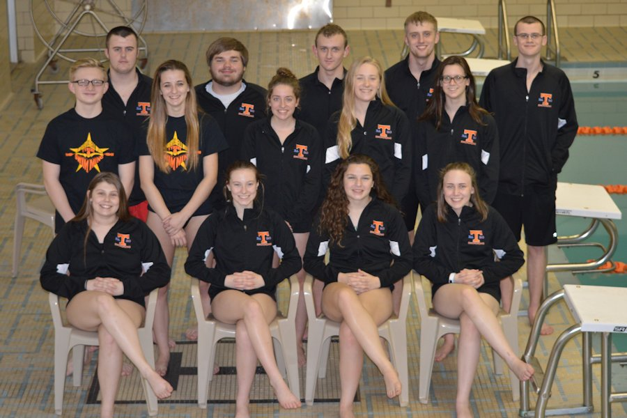 The Tyrone District Team L-R:  Sitting Callie Maceno, Maddie Coleman, Cate Baran, Sarah Hoover. 2nd row- Hunter Gregg, Gwen Dougherty, Sarah Manna, Fiona McConnell, Mae Decker. 3rd row- Carter Maceno, Matt Beam, Matt Lenze, Bryce Bauer and Jacob Decker