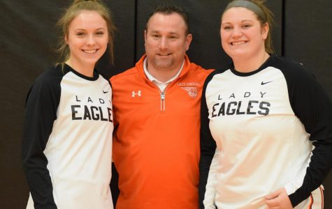 Lady Eagles Core Four Dominate on Senior Night
