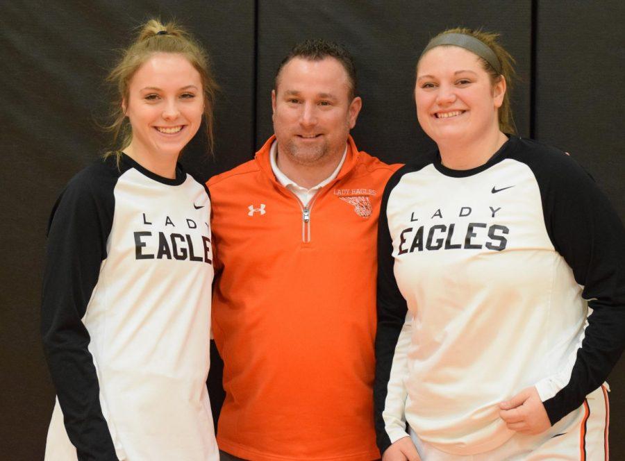 Lady Eagles Core Four Dominate on Senior Night
