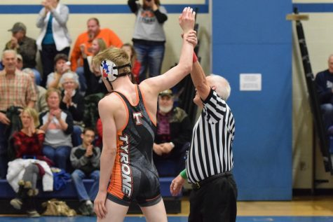 Eagles Wrestlers Dominated by Penns Valley Rams