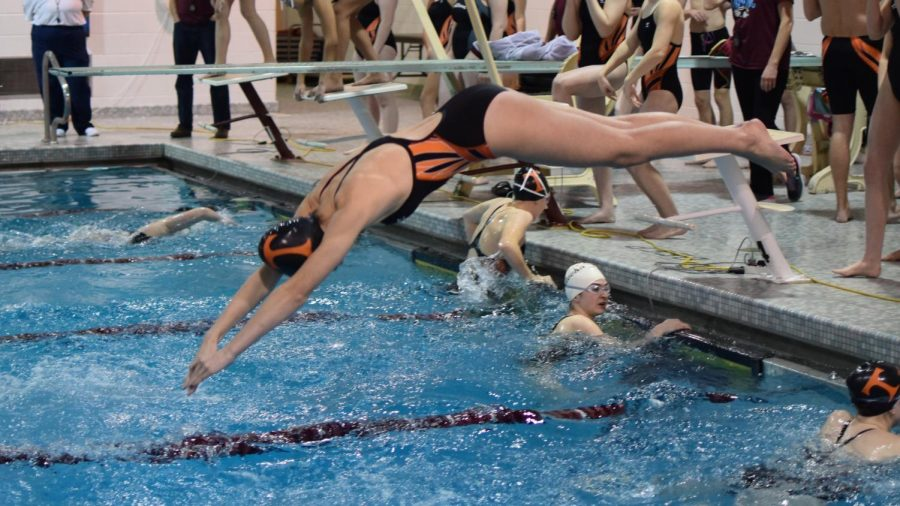 Girls Swimming Still on Top; Boys Work to Tie Altoona 85-85