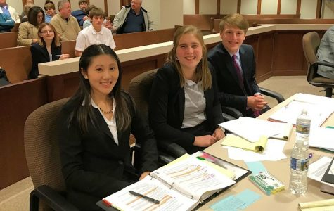 Tyrone Mock Trial A-Team Makes Richland Pay Up