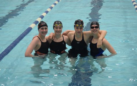 Six Swimmers Podium at District Championships