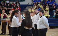 Tyrone Indoor Percussion Places First At Huntingdon High School