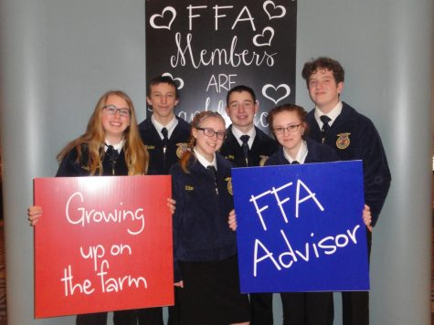 Tyrone FFA Attends 2017 Fall Leadership Conference