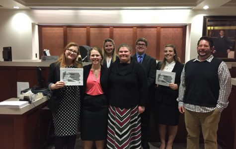 Tyrone Mock Trial B Team Ends Season With Loss At Districts