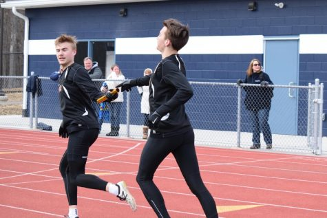Boys Sweep and Girls Split a Tri-Meet at P-O