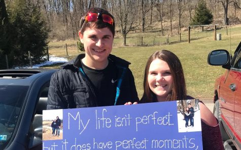 Eagle Eye Promposal Contest: A Sour then Sweet Promposal