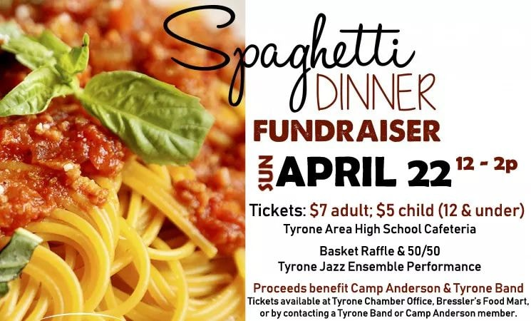 Camp Anderson and the TAHS Band Combine to Host Spaghetti Dinner