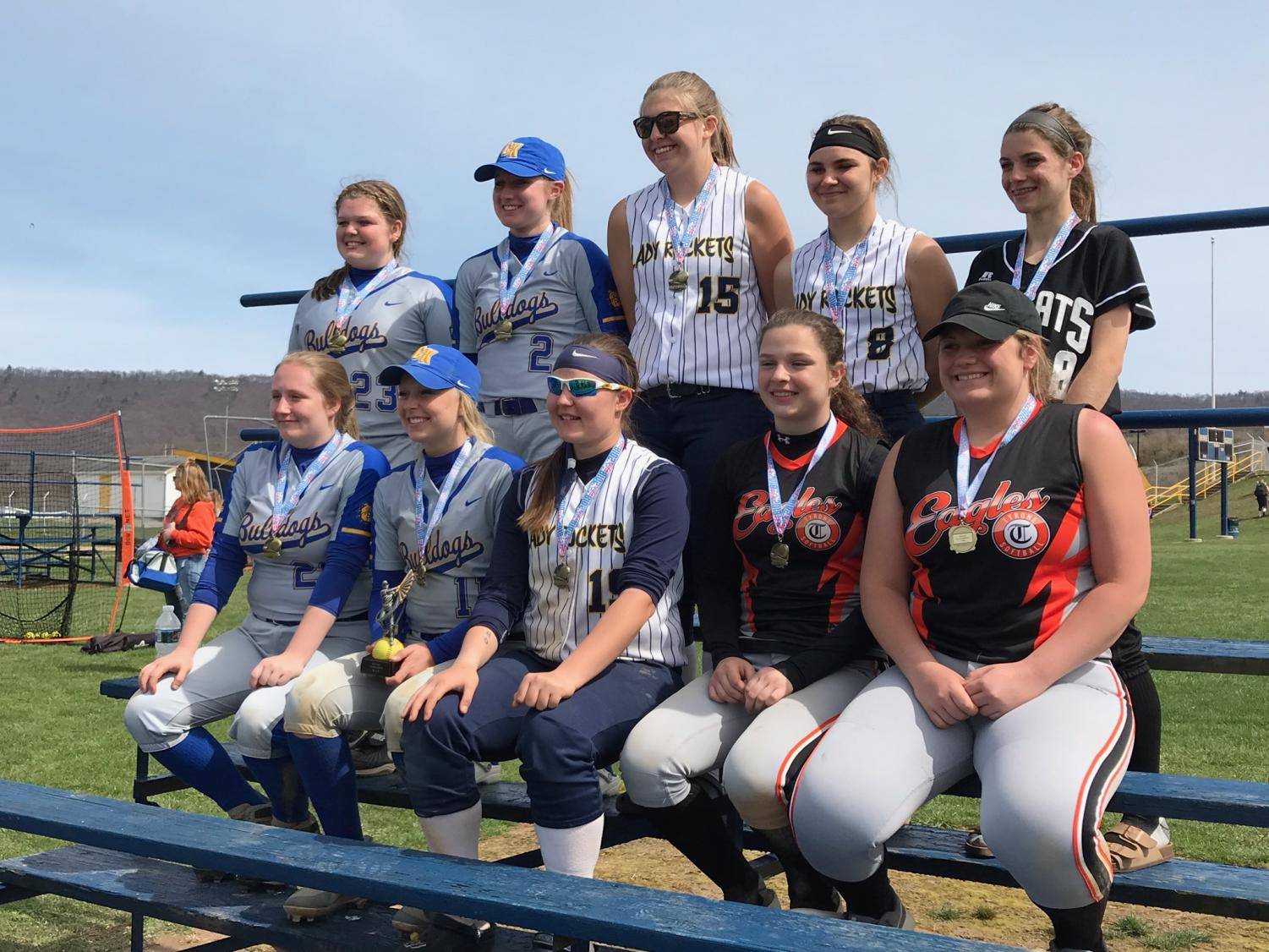 Tyrone's  Cate Baran and Emily Lehman made the all-star team