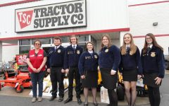 Tyrone FFA Receives Grant from Tractor Supply Company