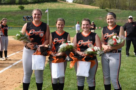 Varsity Softball Falls to Bald Eagle on Senior Night