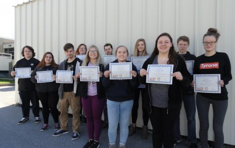 Tyrone FFA Students Earn Certifications
