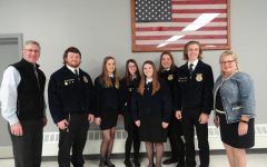 Tyrone FFA Attends Breakfast in Support of PA Agriculture