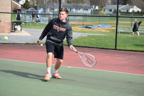 Nick Lewis was victorious in a 3 hour match yesterday (File Photo)