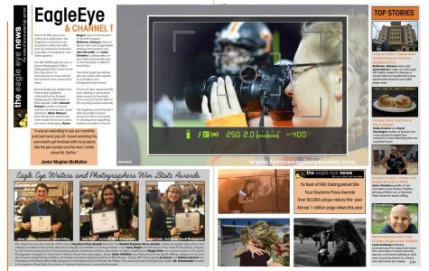 Photo Slideshow: Sneak Peek at the 2018 Eagle Yearbook
