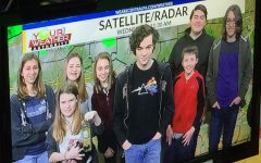 TAHS Students Tour Altoona Mirror and WTAJ News