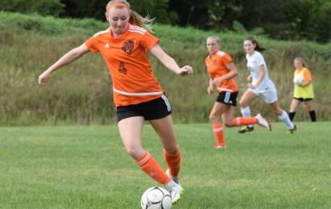 Girls Soccer Falls to Clearfield in Overtime
