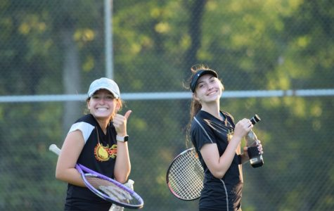 Winning Streak Continues for Girls Tennis