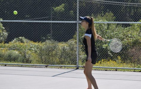 Winning Record and Winning Mountain League Among Hopes for Girls Tennis